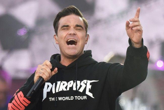 Sänger Robbie Williams lernte seine Frau Ayda Field an seinem persönlichen Tiefpunkt kennen.