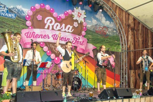 Auch dieses Jahr steigt wieder die Rosa Wiener Wiesn.