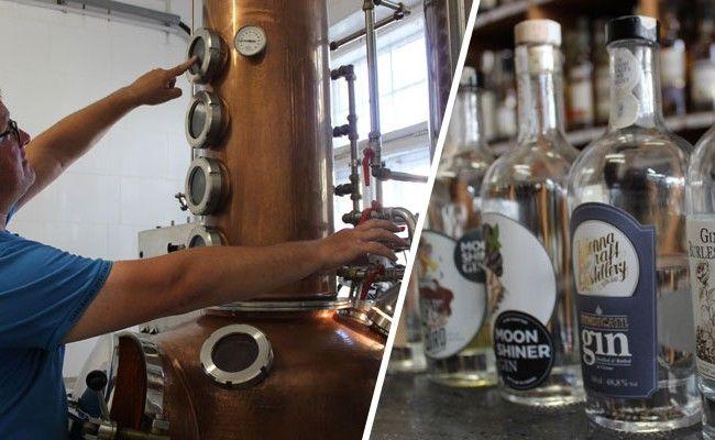 """Die """"Vienna Craft Destillery"""" ist Wiens erste und einzige Gin-Brennerei."""