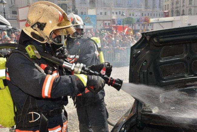 Von 8. bis 10. September findet das Wiener Feuerwehrfest statt.