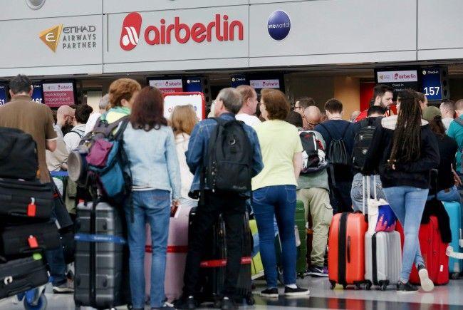 Auch am Mittwoch kommt es zu zahlreichen Flugausfällen bei Air Berlin.