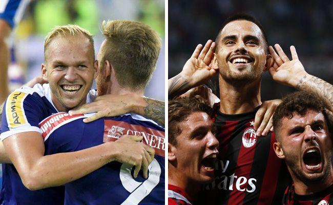 Die Wiener Austria trifft zum Europa-League-Auftakt auf den AC Milan.