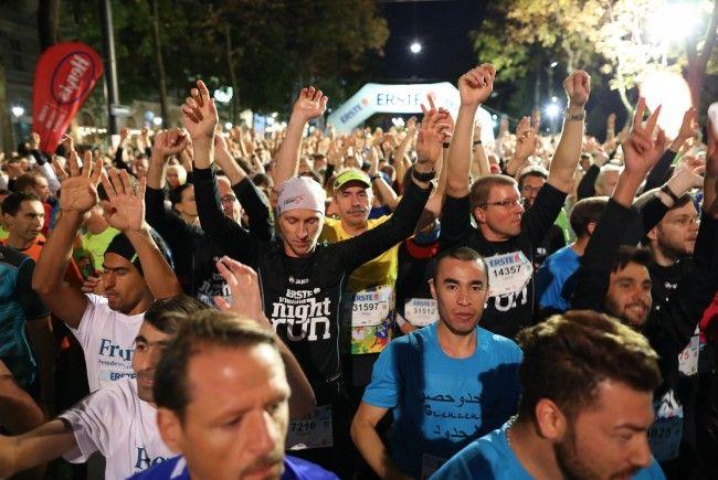 Der Vienna night run war wieder einmal ein voller Erfolg.