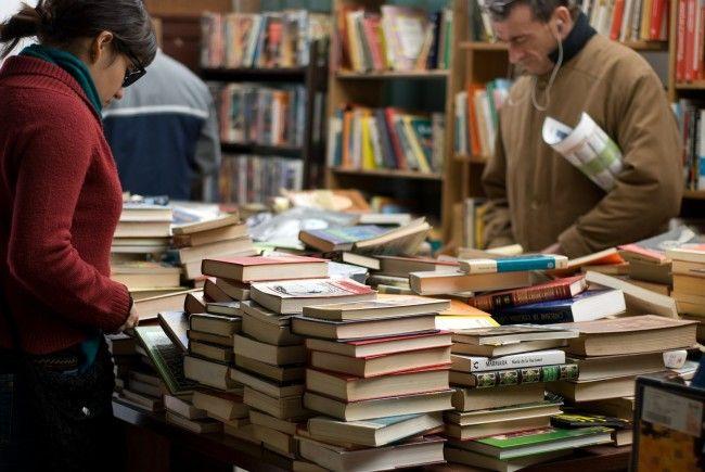 Die Wiener Hauptbücherei lädt zum Bücherflohmarkt ein