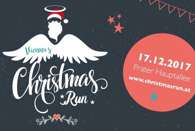 """Am 17. September 2017 feiert der """"Christmas Run"""" in Wien Premiere."""