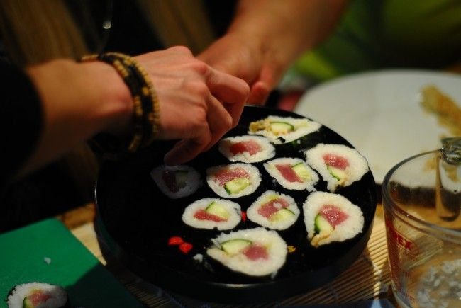 Das Sushi-Festival findet Mitte November in Wien-Favoriten statt.