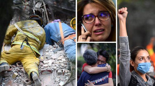 Suche nach Überlebenden: Beben in Mexiko forderte über 230 Tote