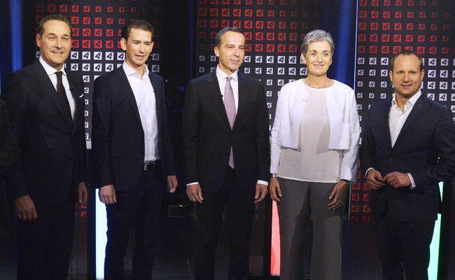 Die fünf Spitzenkandidaten beantworten Fragen zur Europa- und Außenpolitik.