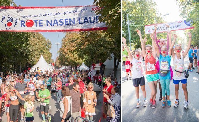 Der Wiener Rote Nasen Lauf findet am 17. September auf der Prater Hauptallee im 2. Bezirk statt.