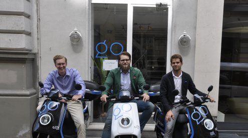 Erstes e-Moped-Sharing in Wien