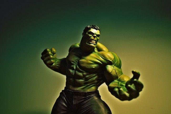 Hulk ist einer der bekannteren Superhelden.