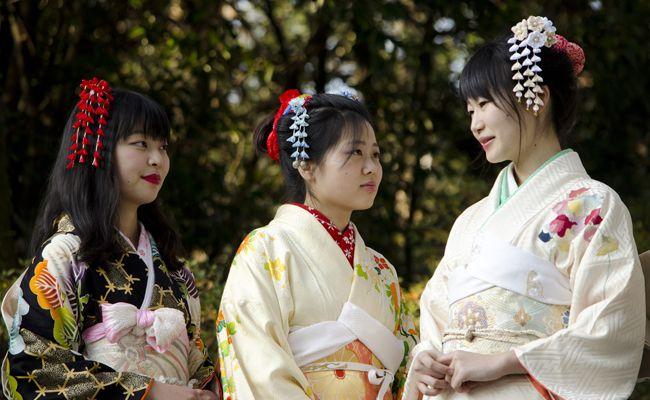Im Schlosspark Schönbrunn wird das Japan-Herbstfest zum bereits 3. Mal veranstaltet.
