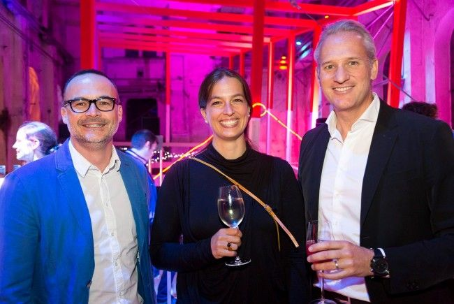 Andreas Karg, Katharina Rhomberg und Martin Ohneberg.