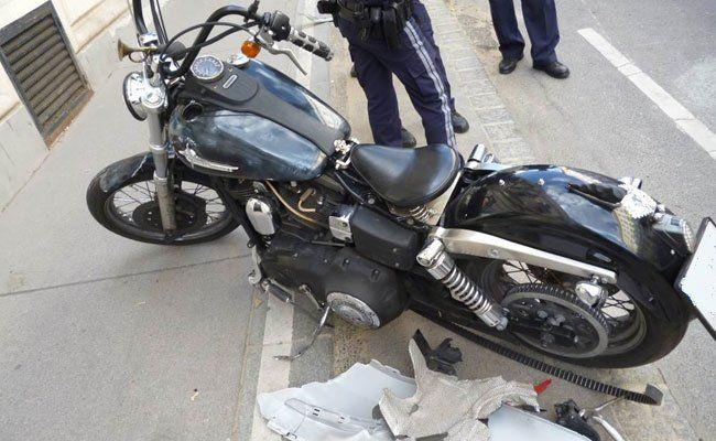 Mit diesem Motorrad kam es zur Verfolgungsjagd