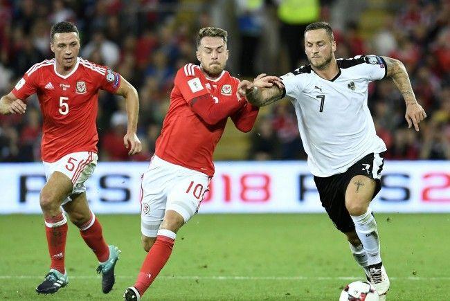 Österreich verliert mit 0:1 gegen Wales in der WM-Qualifikation.