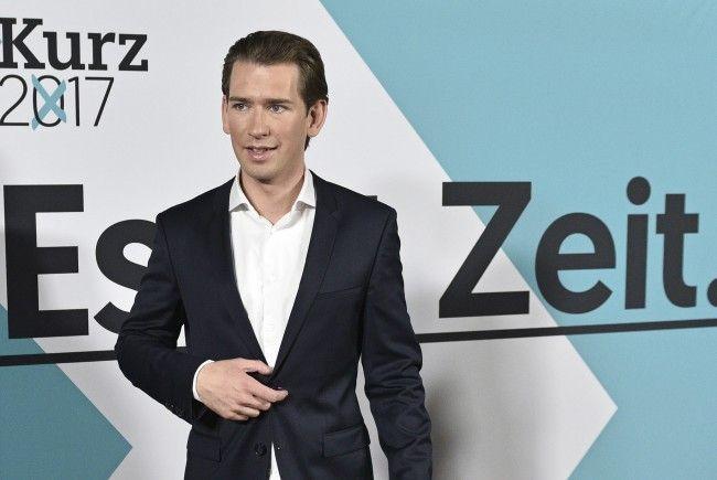 ÖVP-Chef Sebastian Kurz stellte das Wirtschaftswahlprogramm vor.