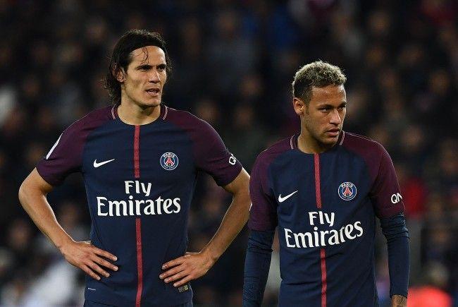Können die PSG-Stars Edinson Cavani und Neymar ihre Reibereien gegen Bayern München ad acta legen?