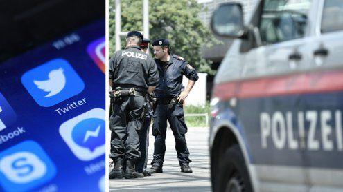 Die Wiener Polizei twittert einen ganzen Tag lang ihre Einsätze