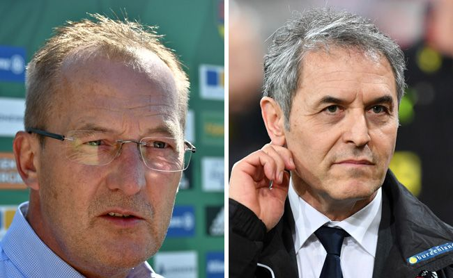 Marcel Koller ist laut Sportdirektor Fredy Bickel kein Thema bei Rapid.