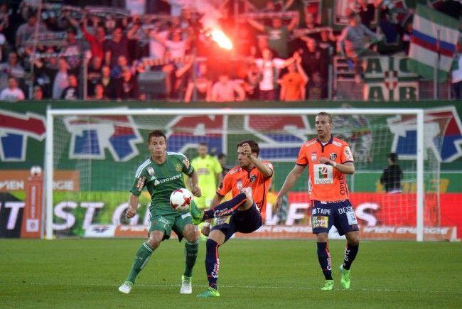 LIVE-Ticker zum Spiel SK Rapid Wien gegen WAC ab 16.00 Uhr.
