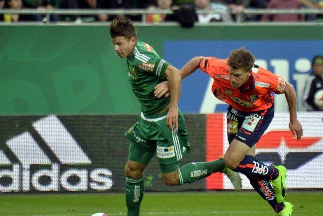 Rapid und der WAC eröffnen die 9. Runde der tipico-Bundesliga.
