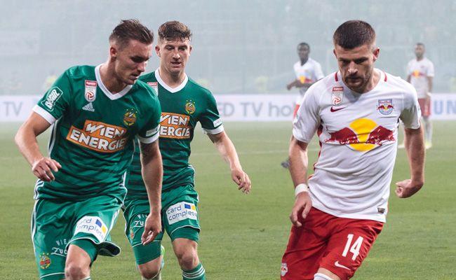 Rapid muss Sonntagnachmittag auswärts bei Titelfavorit Salzburg ran.