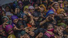 Monsun verschärft Rohingya-Krise