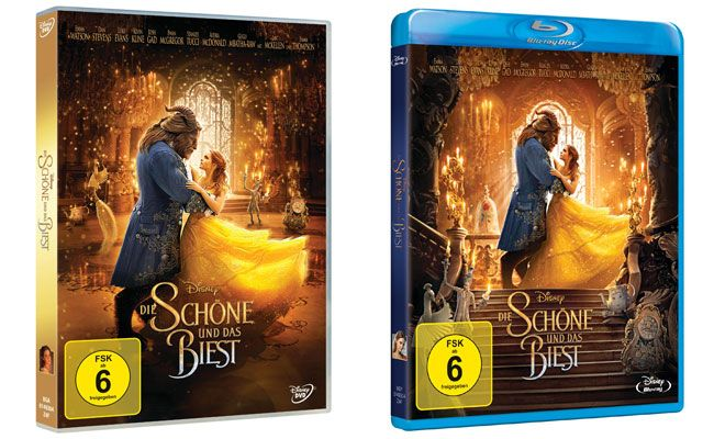"""""""Die Schöne und das Biest"""" gibt es nun auf DVD und BluRay"""