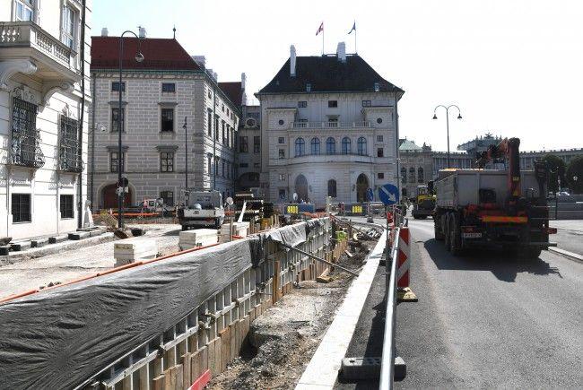 Debatte um Schutzmauer in Wien: Nun soll Sicherheit im öffentlichen Raum geprüft werden.