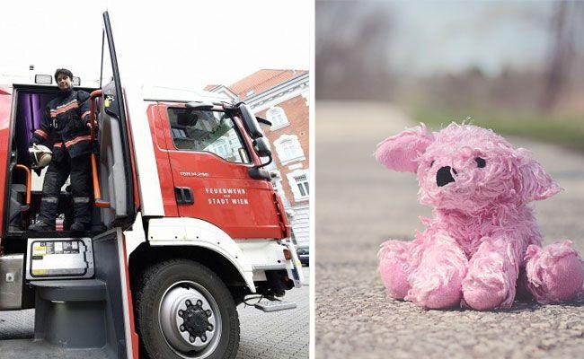 Die Feuerwehr wurde wegen Spielzeug gerufen, das ein Kind aus dem Fenster geworfen hatte