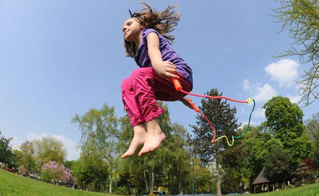 Beim Sportfest ist Geschicklichkeit, Sportlichkeit und Ausdauer gefragt.