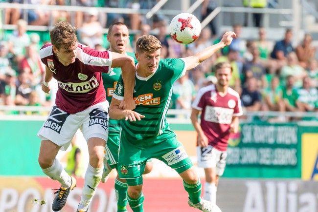 Rapid trifft in der zehnten Bundesligarunde auswärts auf Mattersburg.