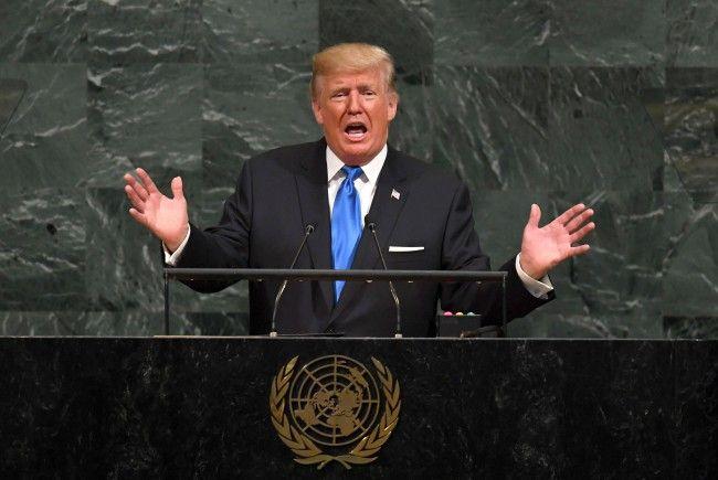 US-Präsident Donald Trump sprach vor der UN-Generalversammlung.