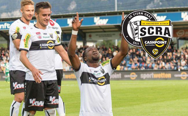 Schalke-Leihgabe Bernard Tekpetey ist nach einer roten Karte im Cup, die er für seine Reaktion auf rassistische Ausfälle von Zuschauern erhielt, gegen Graz gesperrt.