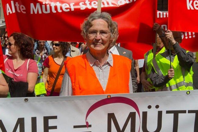 Gertraud Burtscher soll Mitglied in Neonazi-Parteien gewesen sein.