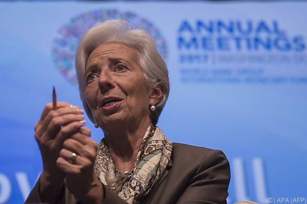 Lagarde fordert mehr Globalisierung