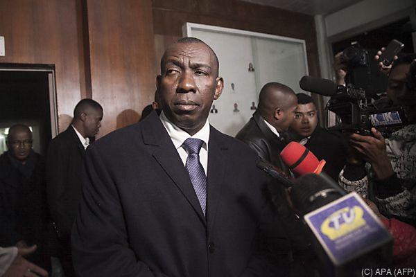 Regierungschef Olivier Mahafaly Olonandrasana