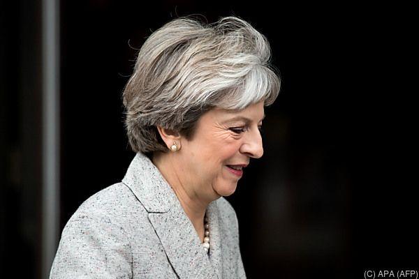 Mays Konservative tagen in Manchester
