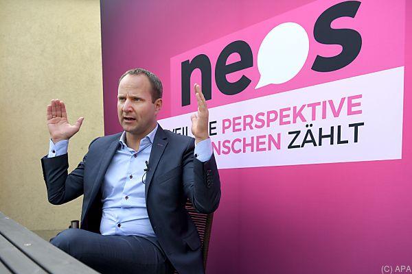 Die NEOS peilen nach der Wahl eine große Staatsreform an