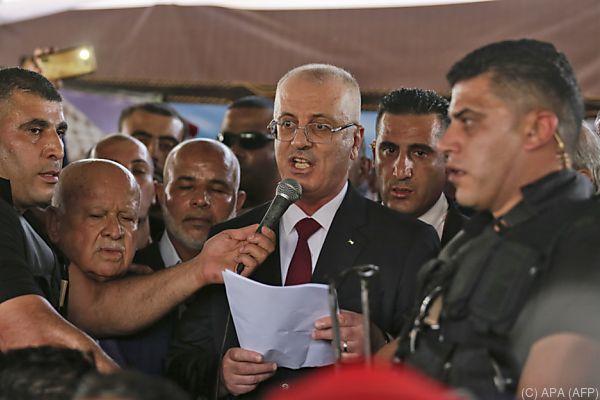 Rami Hamdallah besuchte den Gaza-Streifen