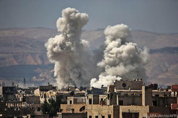 Wieder Anschläge in Damaskus