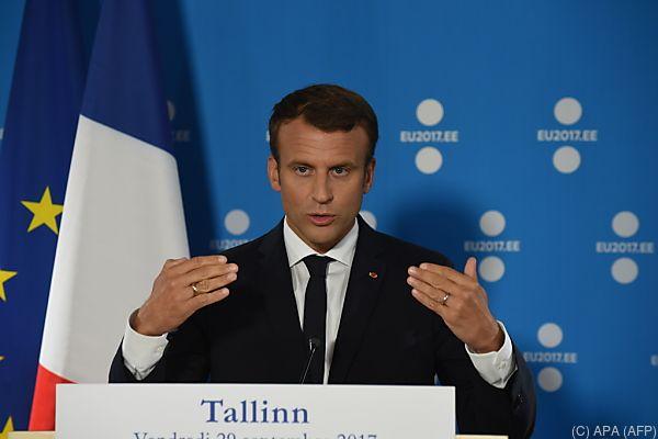 Macron hat Visionen für Europa