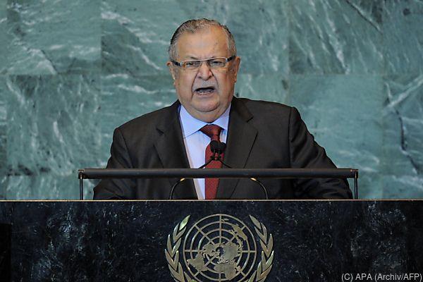 Talabani starb in Deutschland