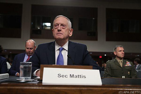 Mattis steht hinter Tillerson