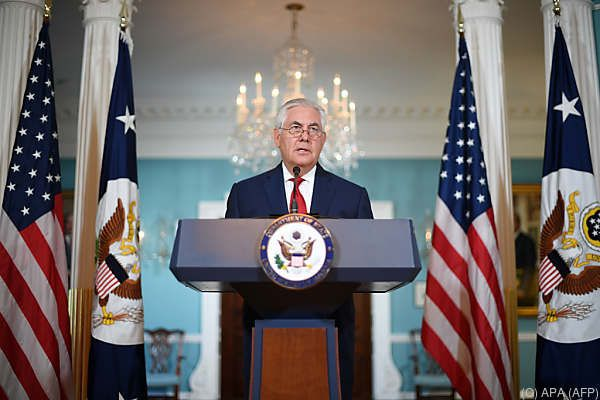 Tillerson hält Präsident Trump die Treue
