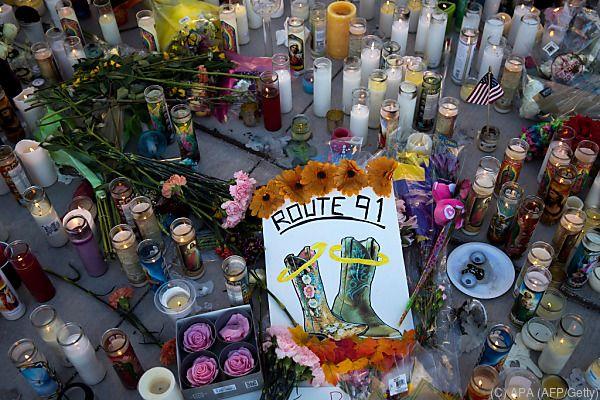 Trauer um die 58 Opfer in Las Vegas