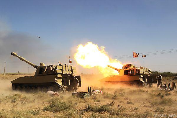Iraks Regierungstruppen auf dem Vormarsch