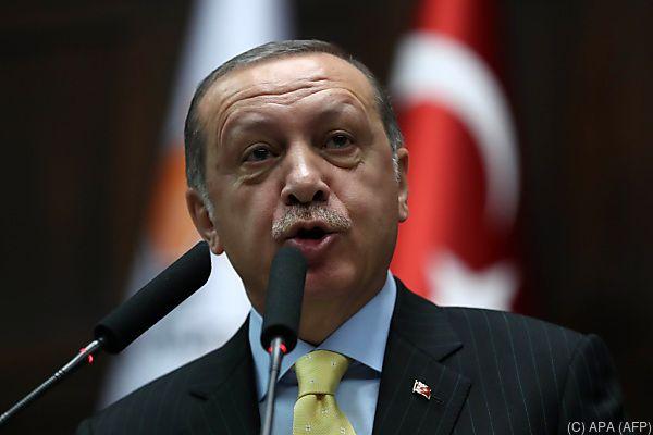 Erdogan ist für Vergeltungsmaßnahme