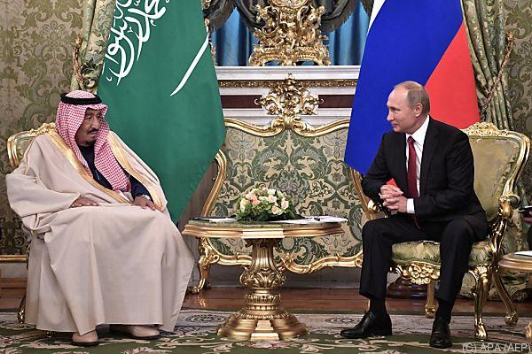 Historischer Staatsbesuch in Moskau