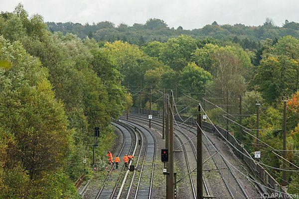 Bahnstrecken nur langsam wieder befahrbar